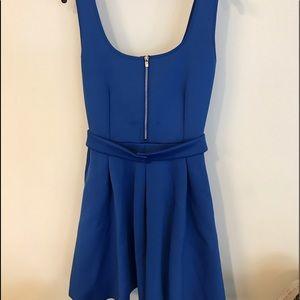 MAJE blue dress